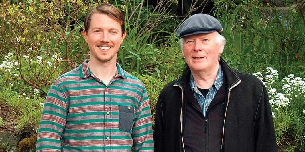 Accomplished Irish singers like Brian Ó hAirt and Len Graham (L-R) will be featured in this fall's Gaelic Roots series.