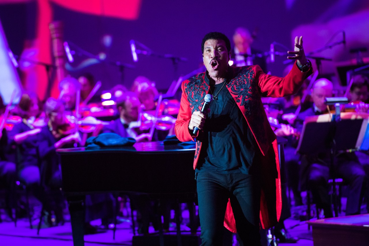 Lionel Richie at BC Pops on the Heights