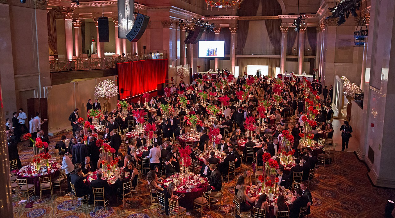 The Wall Street Council Tribute Dinner was held at Cipriani Wall Street in New York City