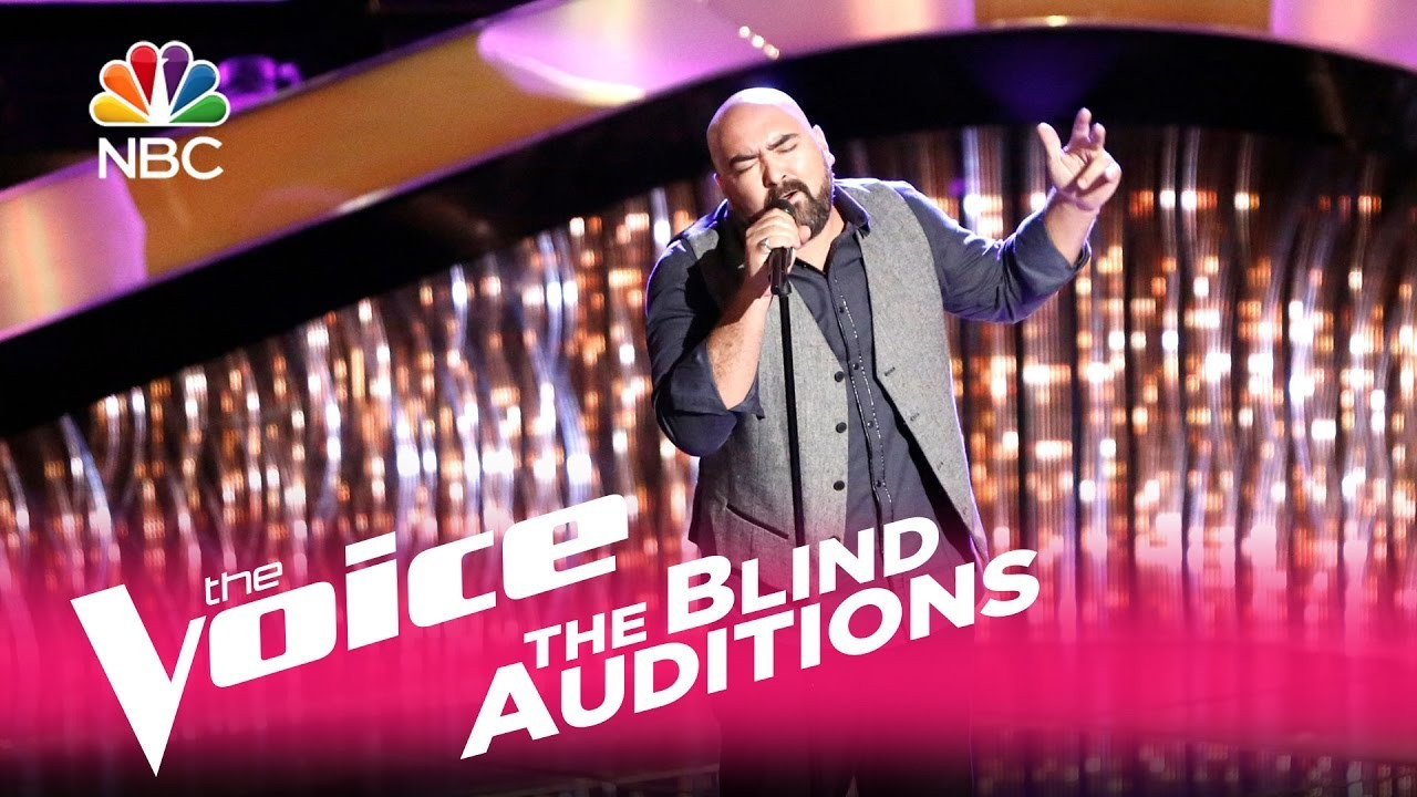 "Troy Ramey's blind audition on NBC's ""The Voice"""