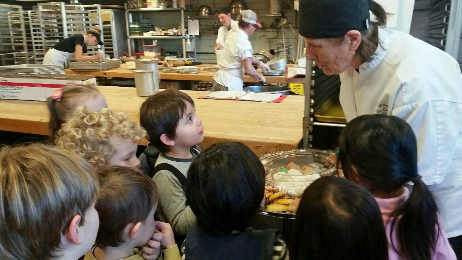BC Children's Center tours the BC Bakery