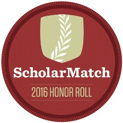 ScholarMatch 2016 College Honor Roll