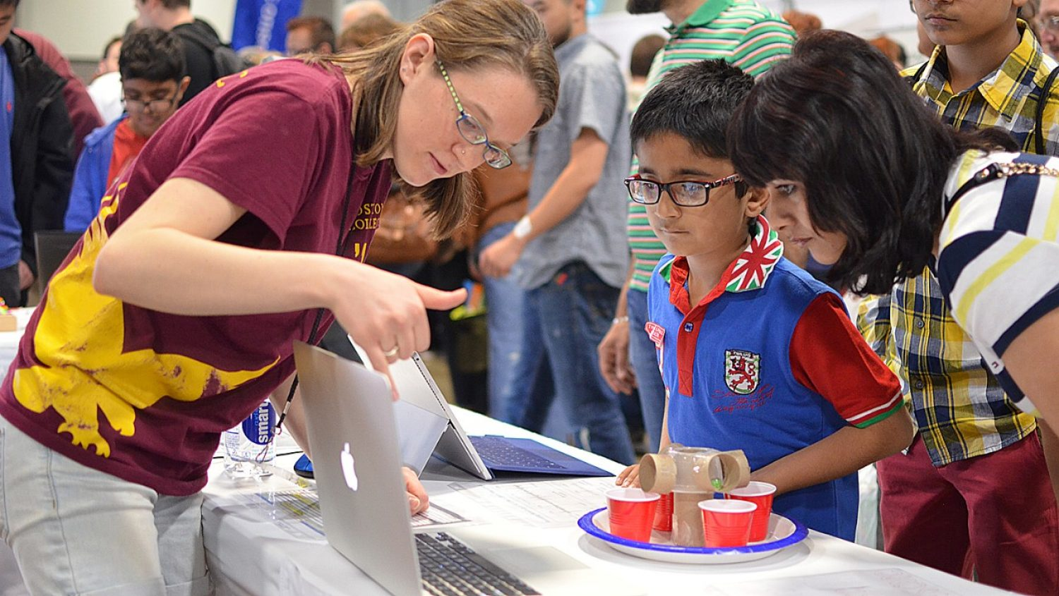 Students at USA Science & Engineering Festival