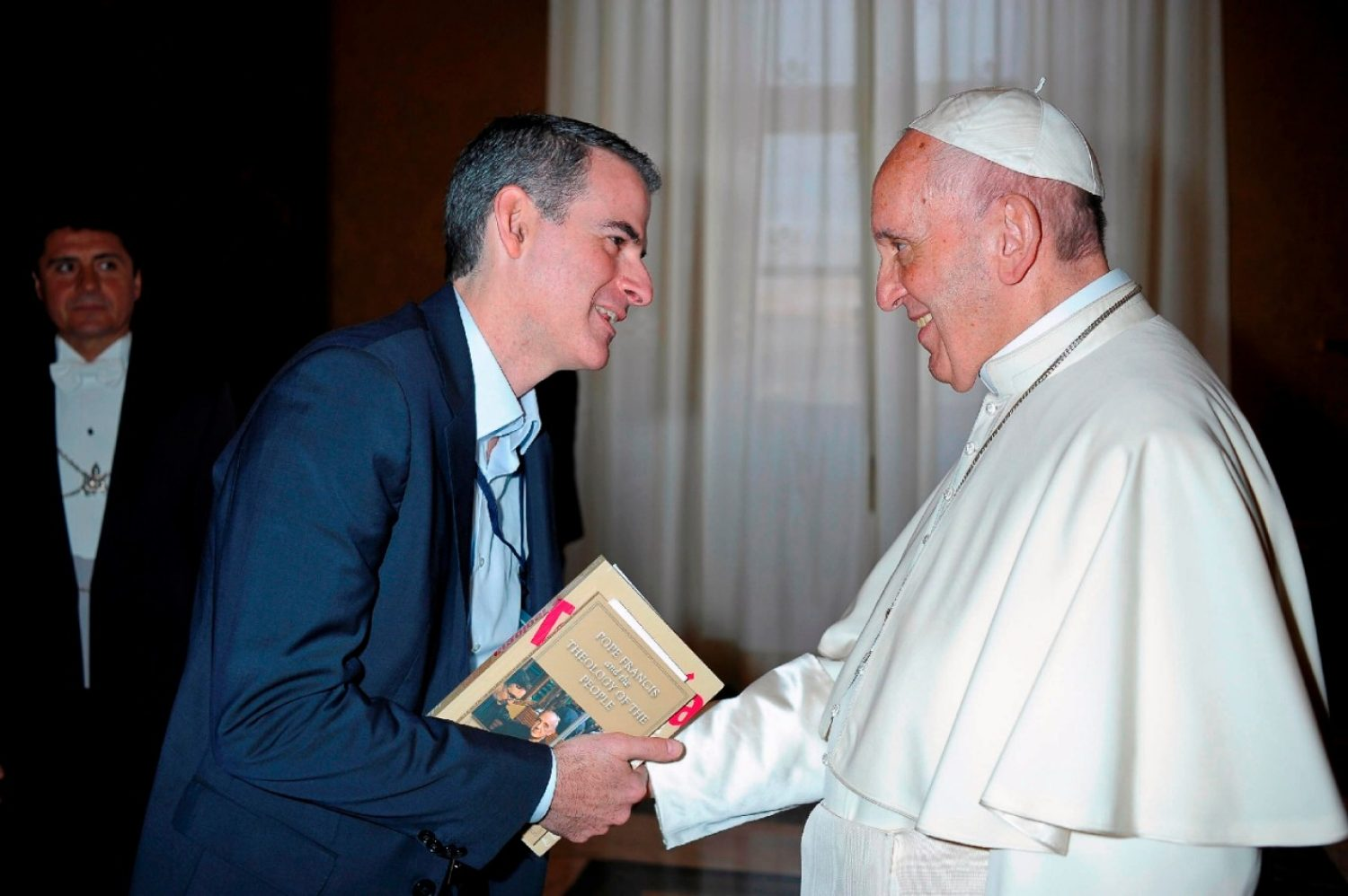 Rafael Luciani and Pope Francis