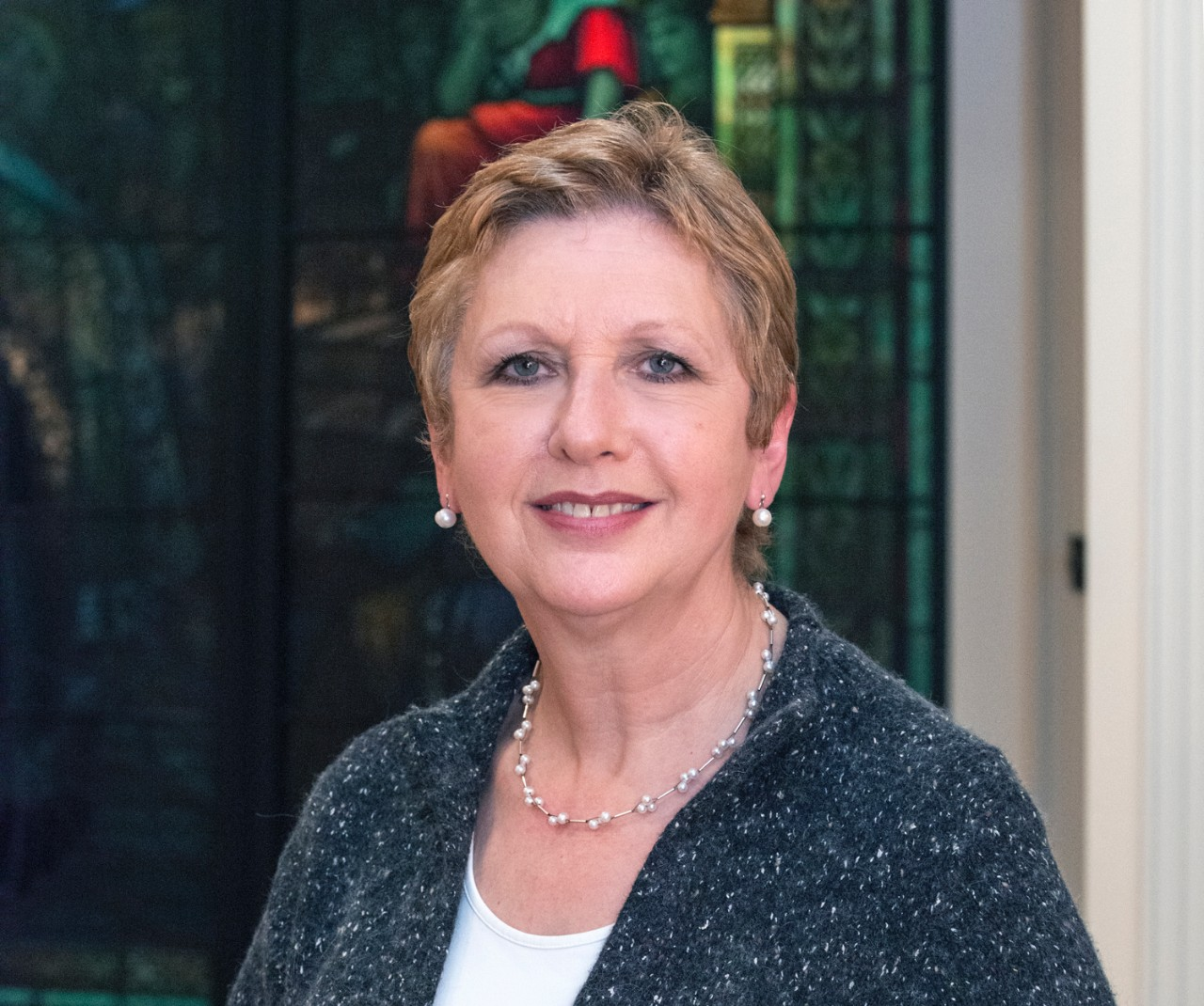 Mary McAleese, former president of Ireland, served as Burns Scholar in 2013.