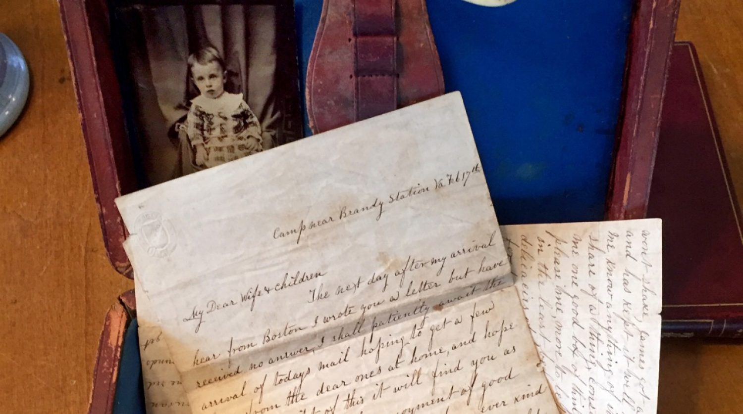 Civil War-era letters written by an Irish immigrant serving at the front line