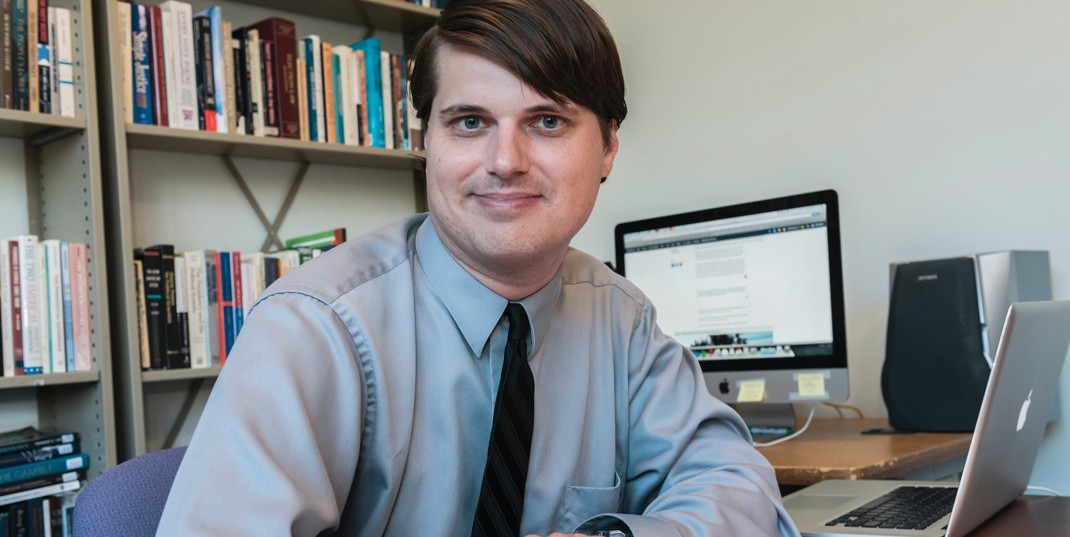 Assistant Professor of Political Science David Hopkins