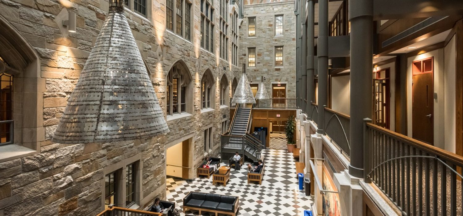 Fulton Hall Powers atrium