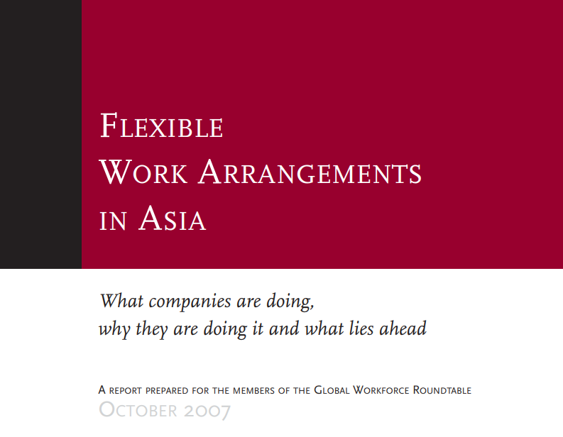 work in asia