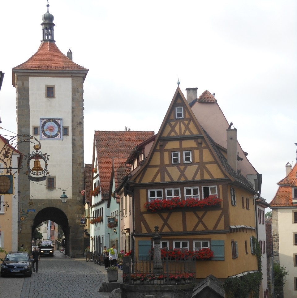 Rothenburg ob der Tauber, Germany - Photo: Anastasia Zander