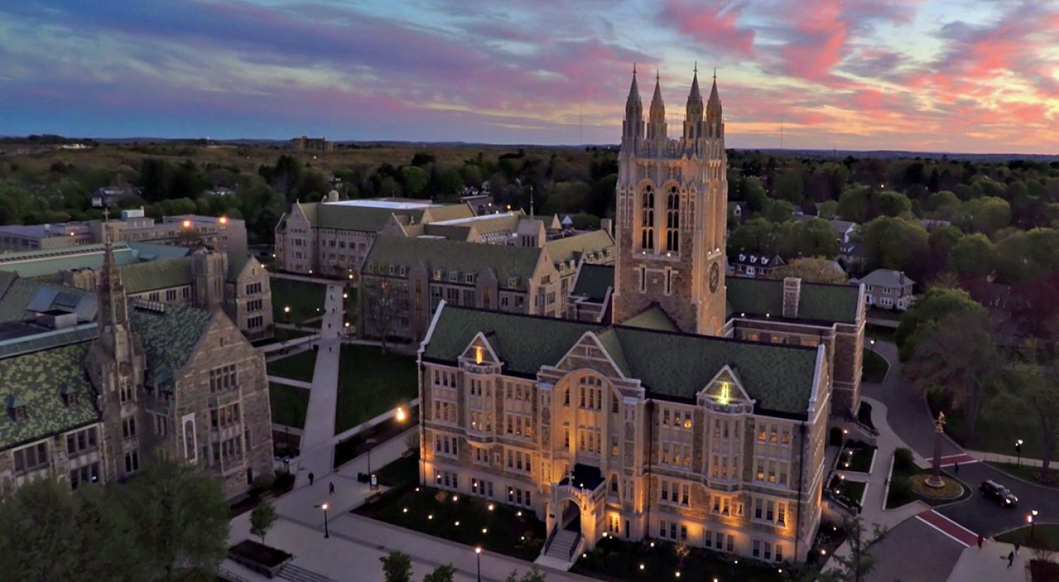 Gasson at sunset
