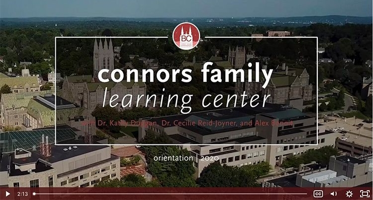 Connors Family Learning Center video