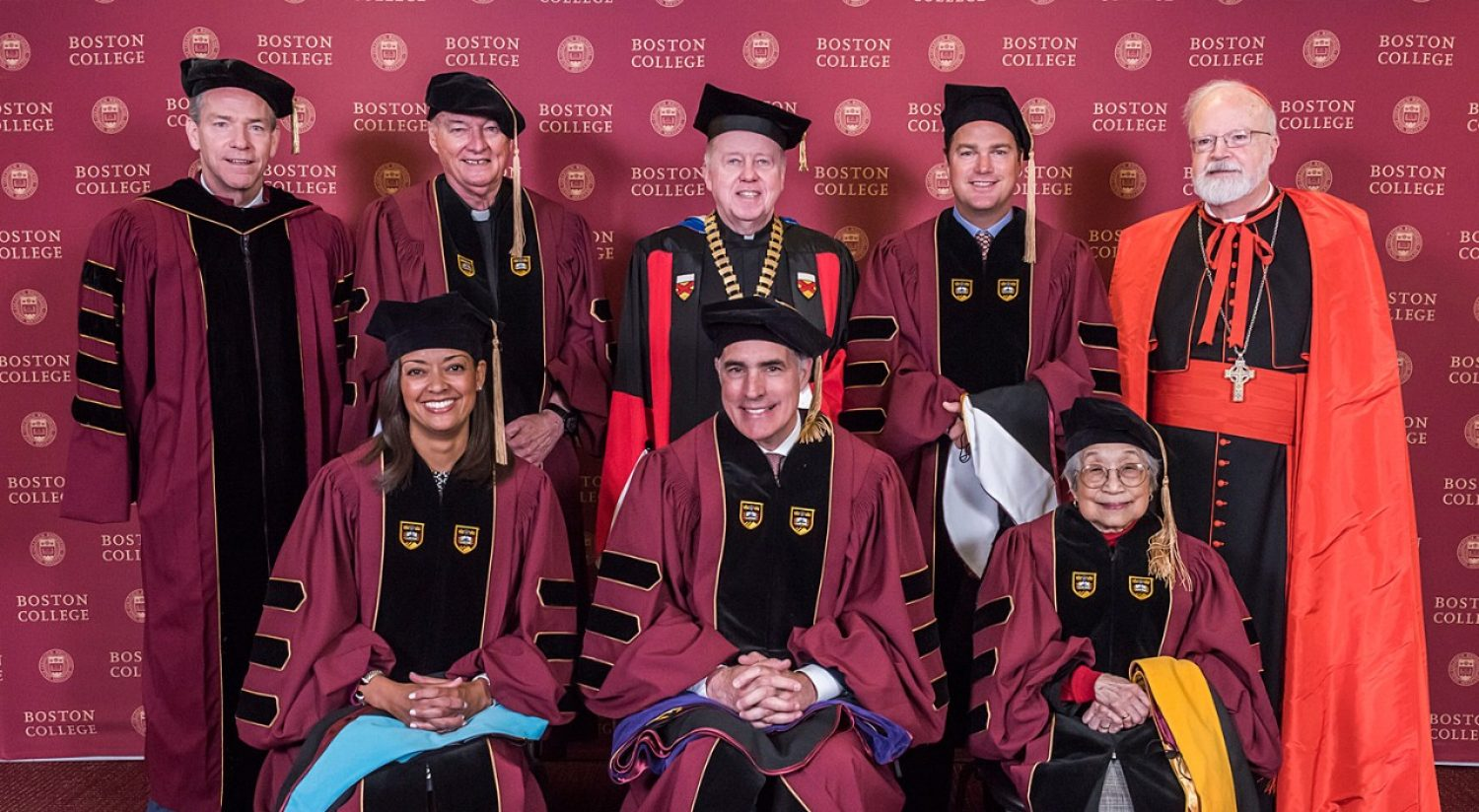 Boston College honorary degree recipients - Commencement 2017