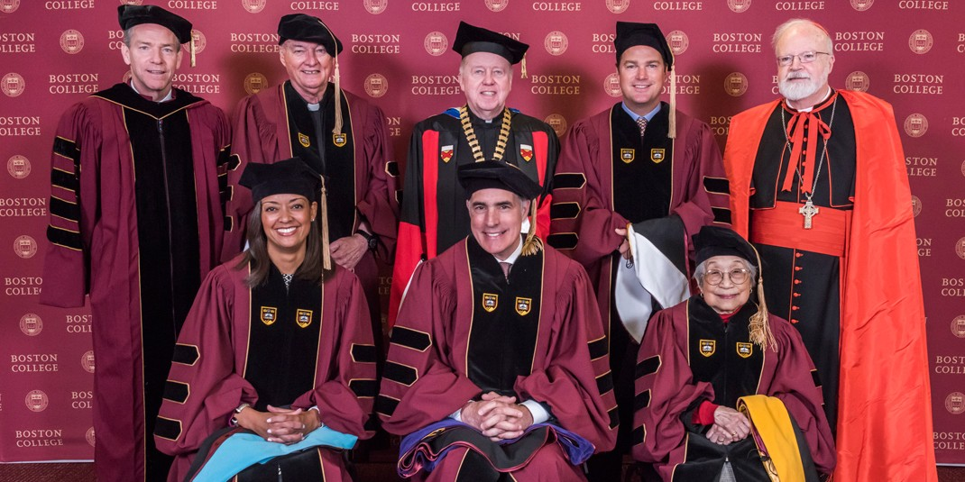 Boston College honorary degree recipients, 2017