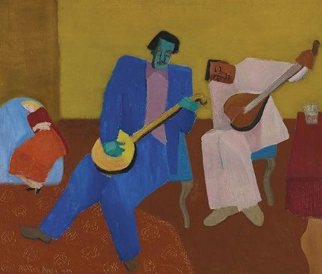 Milton Avery's Music Makers