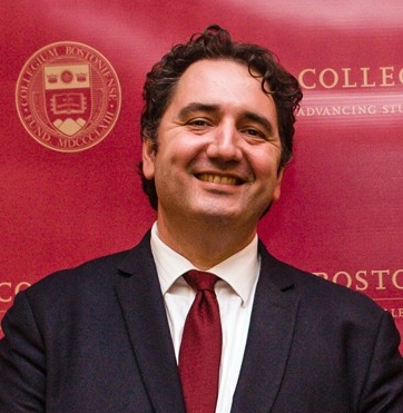 Aleksandar (Sasha) Tomic, PhD, program director of the Master of Science in Applied Economics program at Boston College's Woods College of Advancing Studies