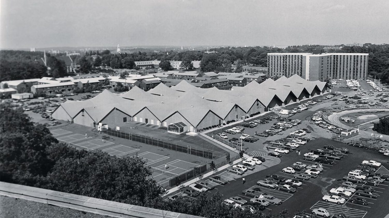 Old photo of the Plex