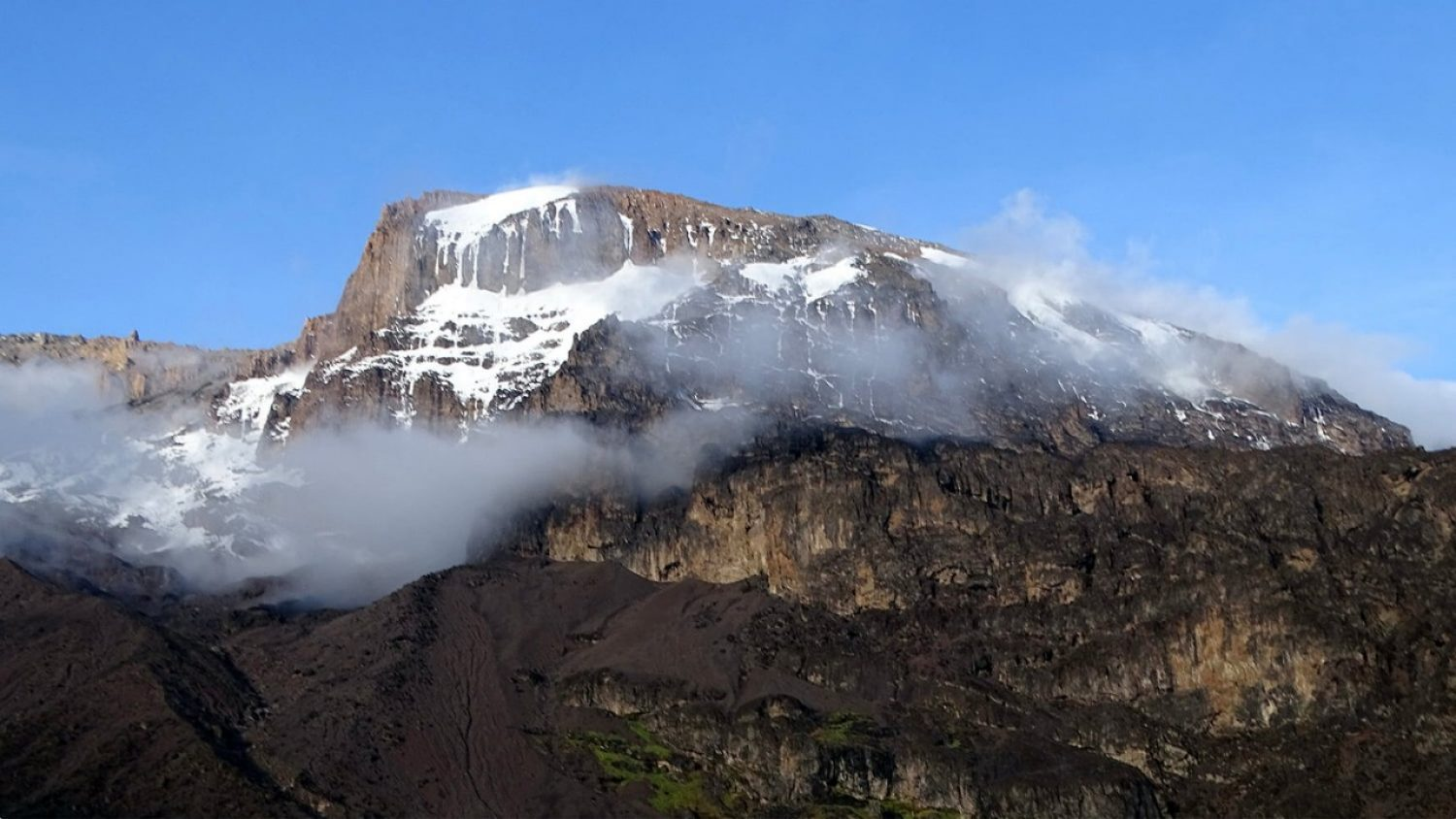The view from Barranco Camp