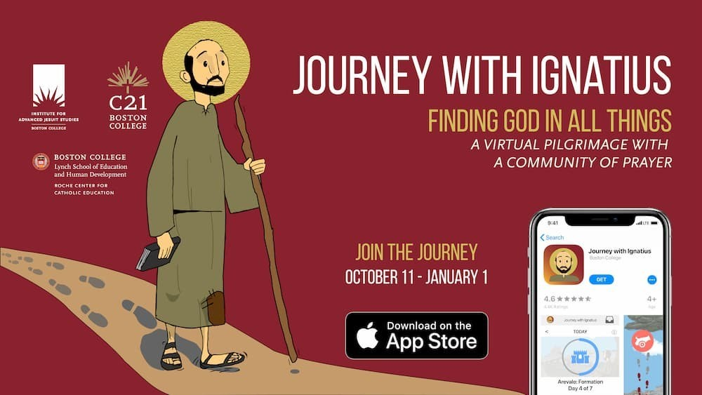 Journey with Ignatius graphic