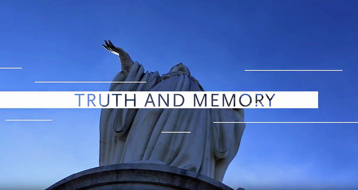 Truth and Memory title screen