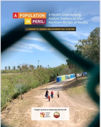 """A population in peril"" report cover"