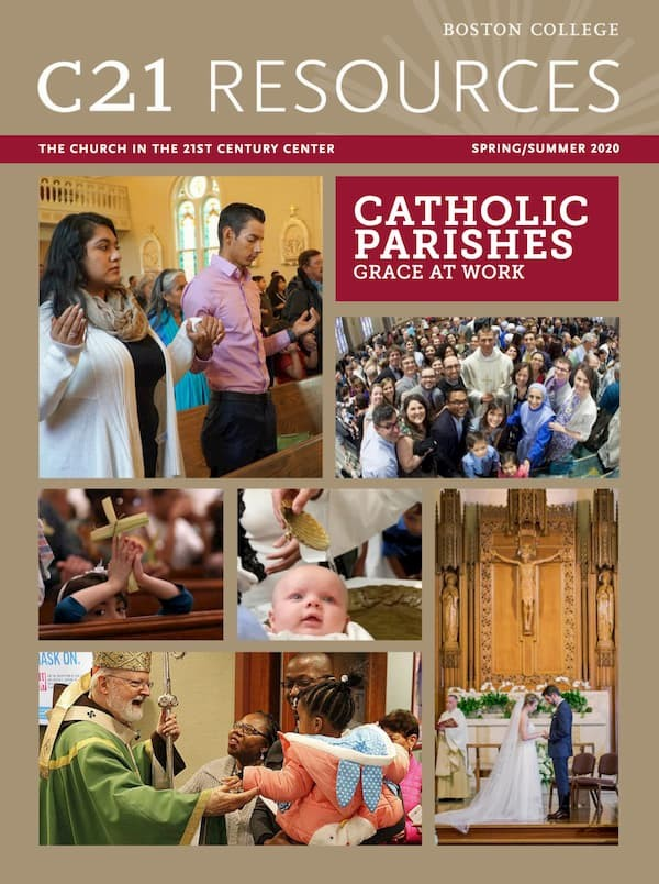 catholic parishes at work