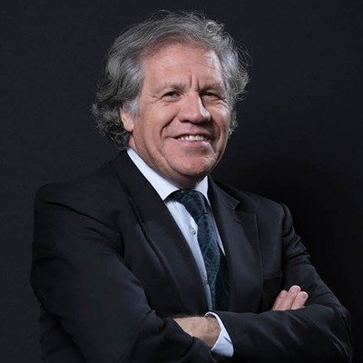 Luis Almagro, Secretary General of the Organization of American States (OAS)