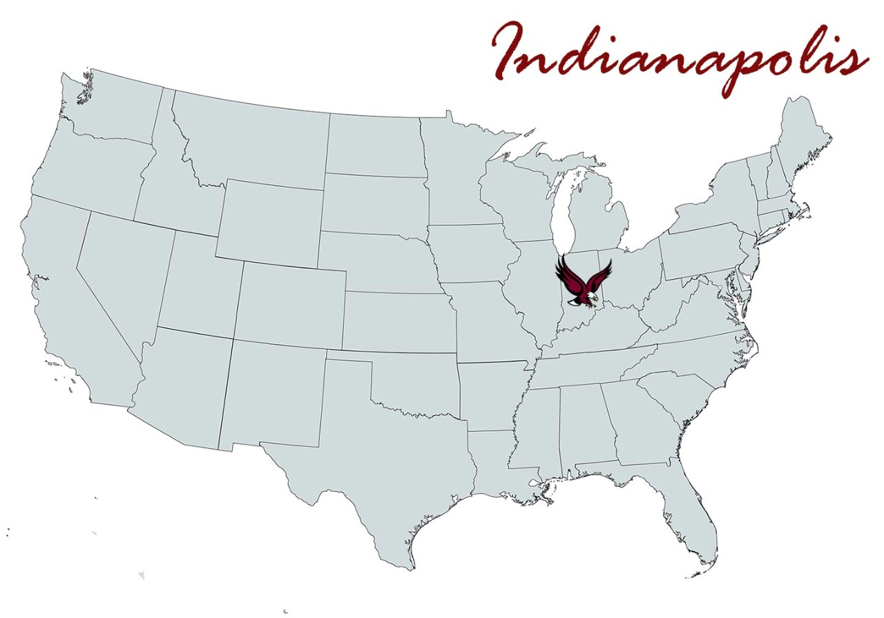 Indianapolis Chapter Map Location Marker