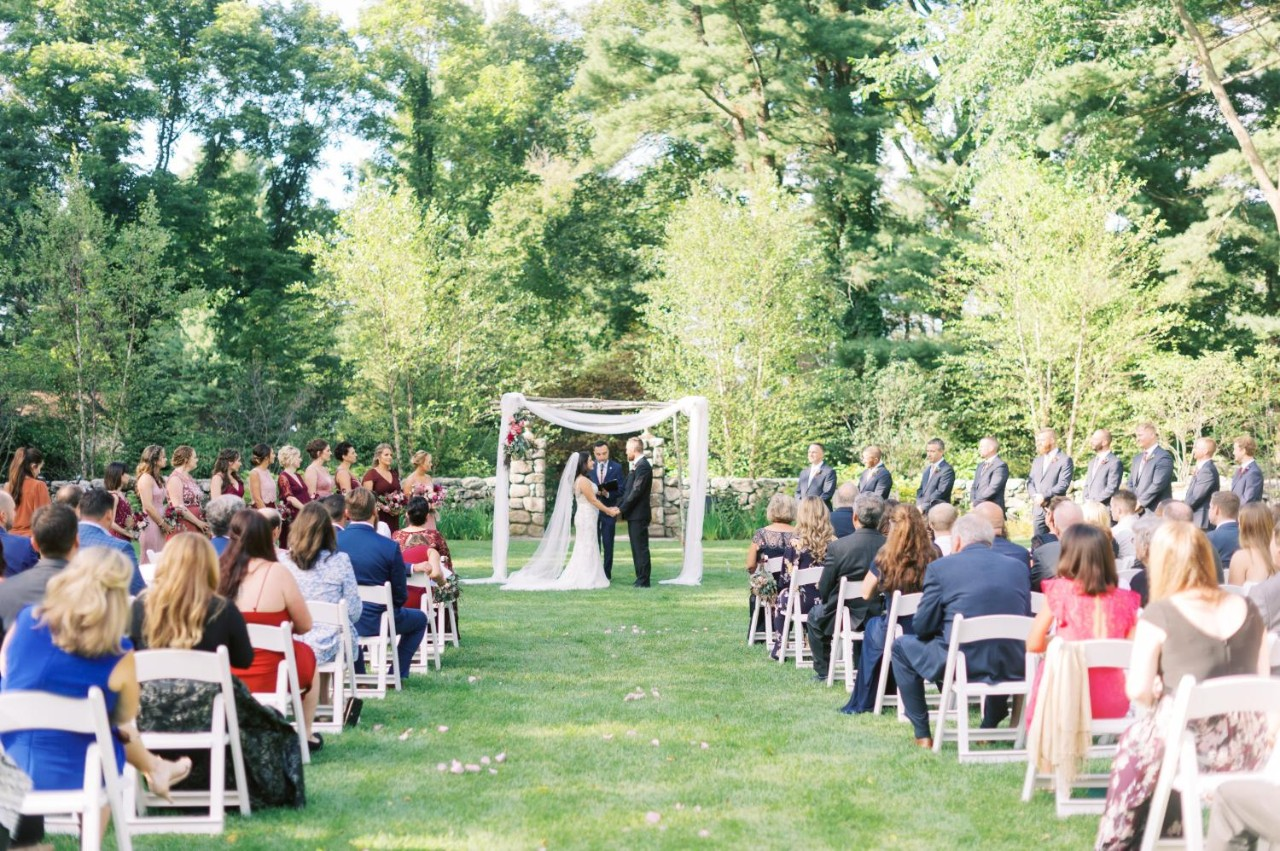 wedding at St. Cecilia's Garden