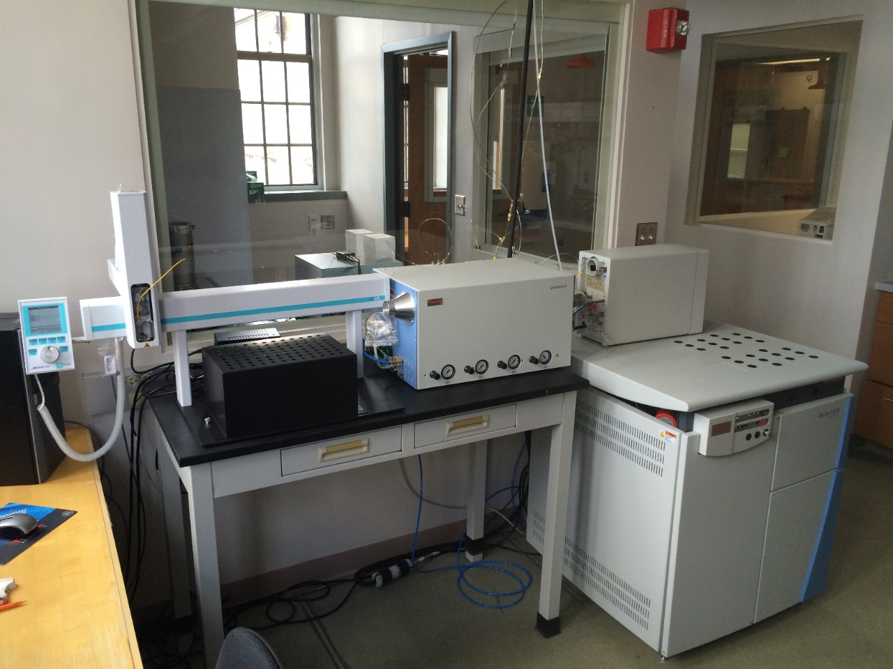Thermo Delta V Plus Isotope Ratio Mass Spectrometer (IRMS)