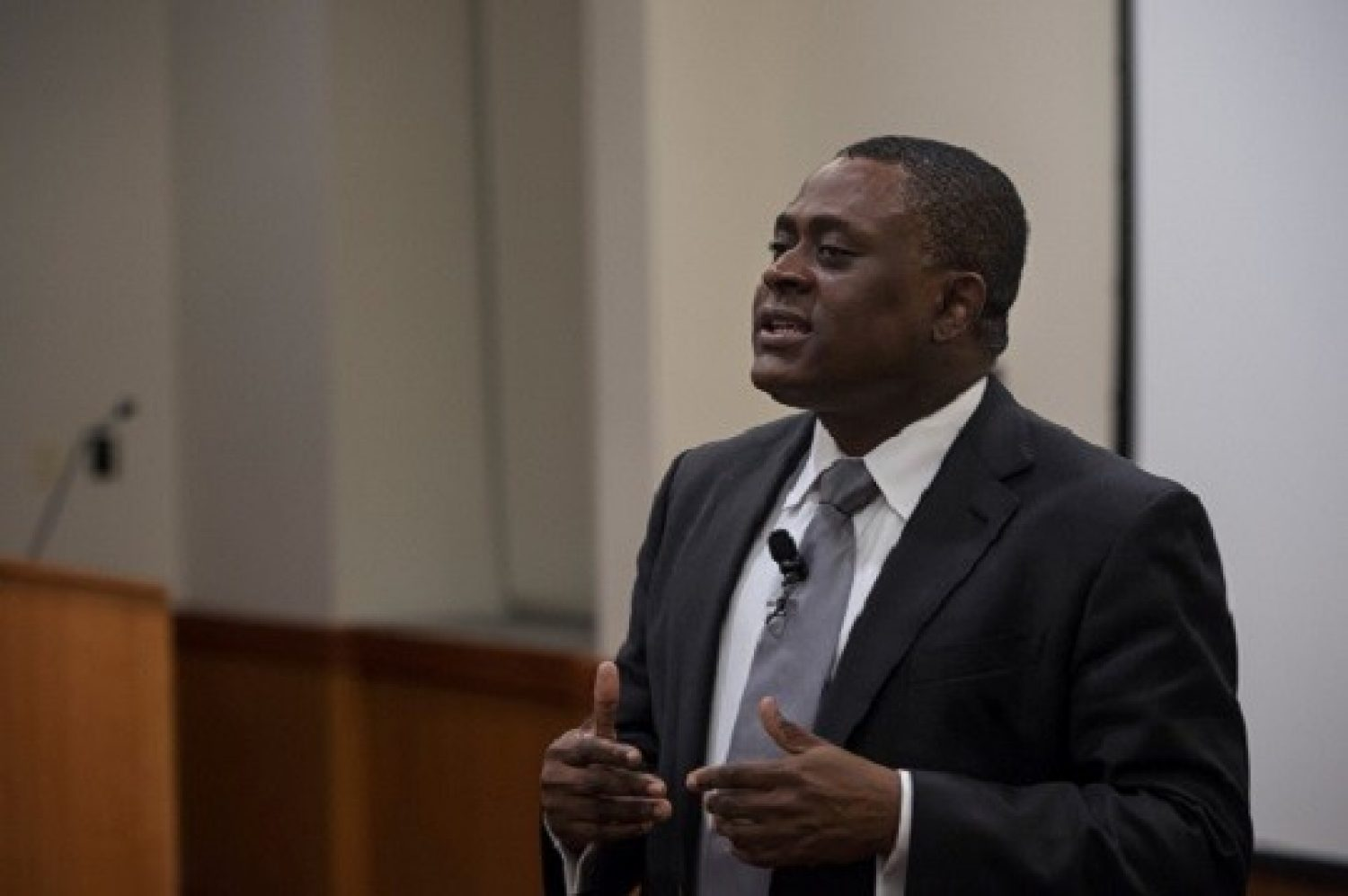 Spring 2017: Dr. Bennet Omalu, Neuropathologist and CTE Expert