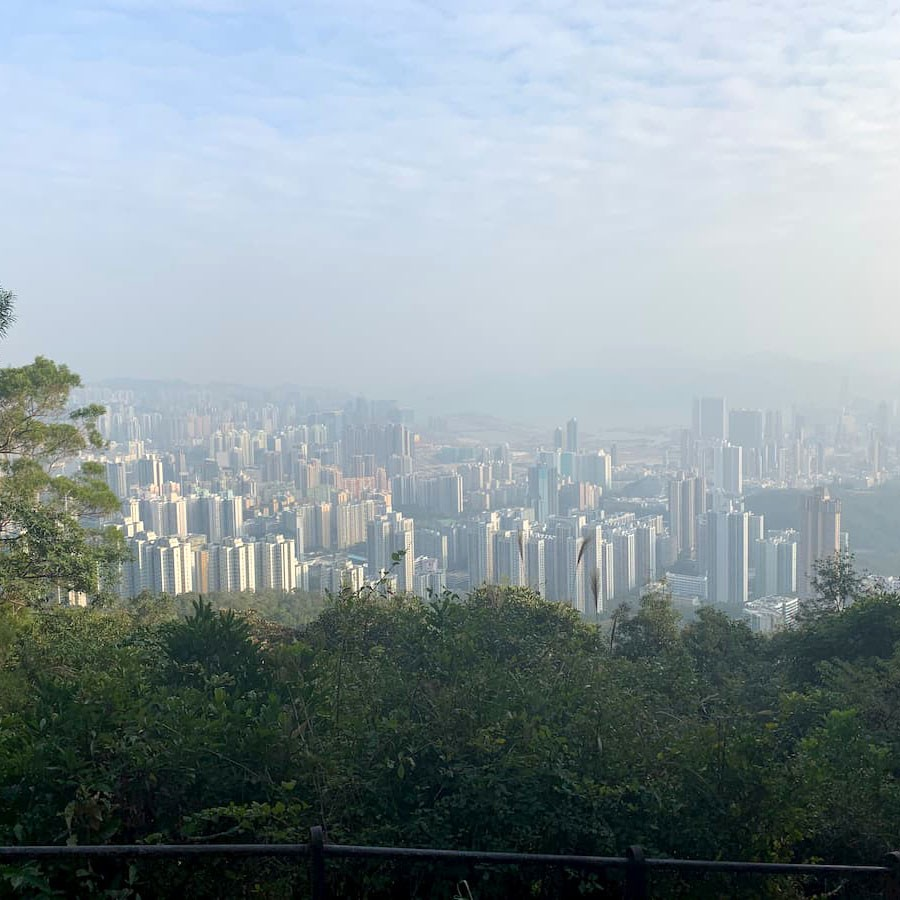 Amanda Brown '21 took this photo over Winter Break at Lion Rock hiking trail, which overlooks Hong Kong.