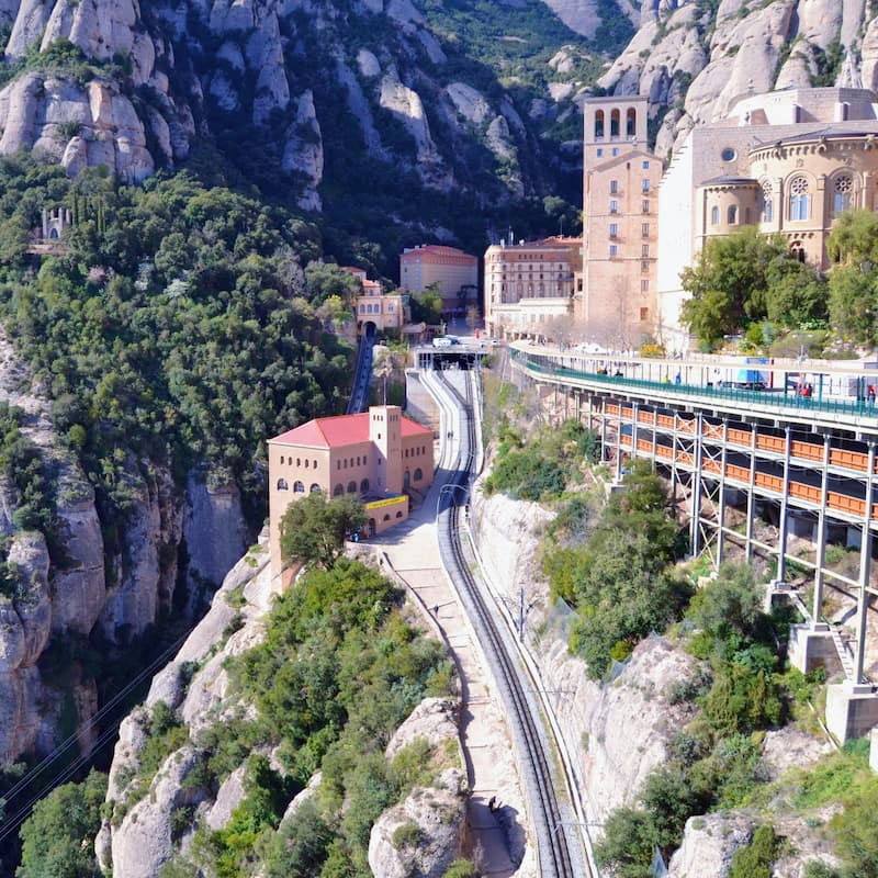 "Riley Ford '21 writes: ""During my time studying abroad, I really enjoyed my trip to Montserrat, Spain, a place where St. Ignatius spent time during his pilgrimage."""
