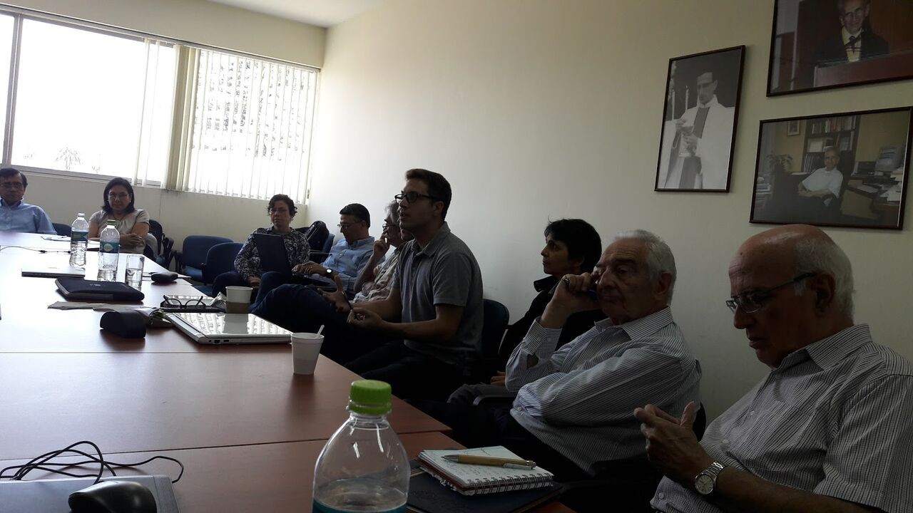 Presentation to the Peruvian researchers on religious issues