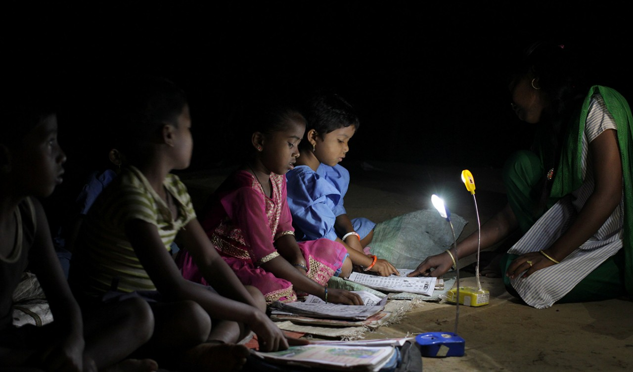 One current collaborative project between IITB and BCSSW is addressing the 244 million people living in India who lack regular access to electricity.