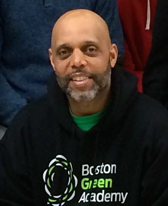 Brian Gonsalves, Director of Student Support Services at Boston Green Academy