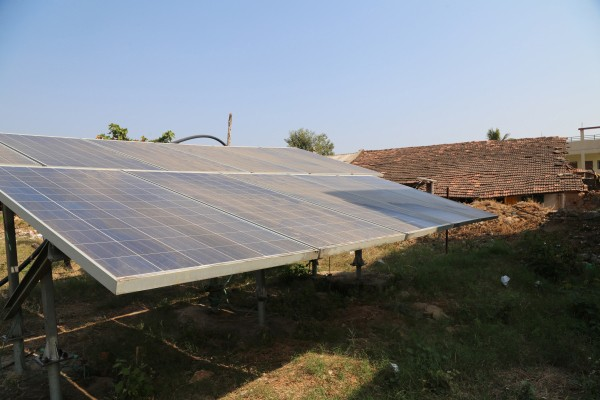 Solar panels in Rajasthan