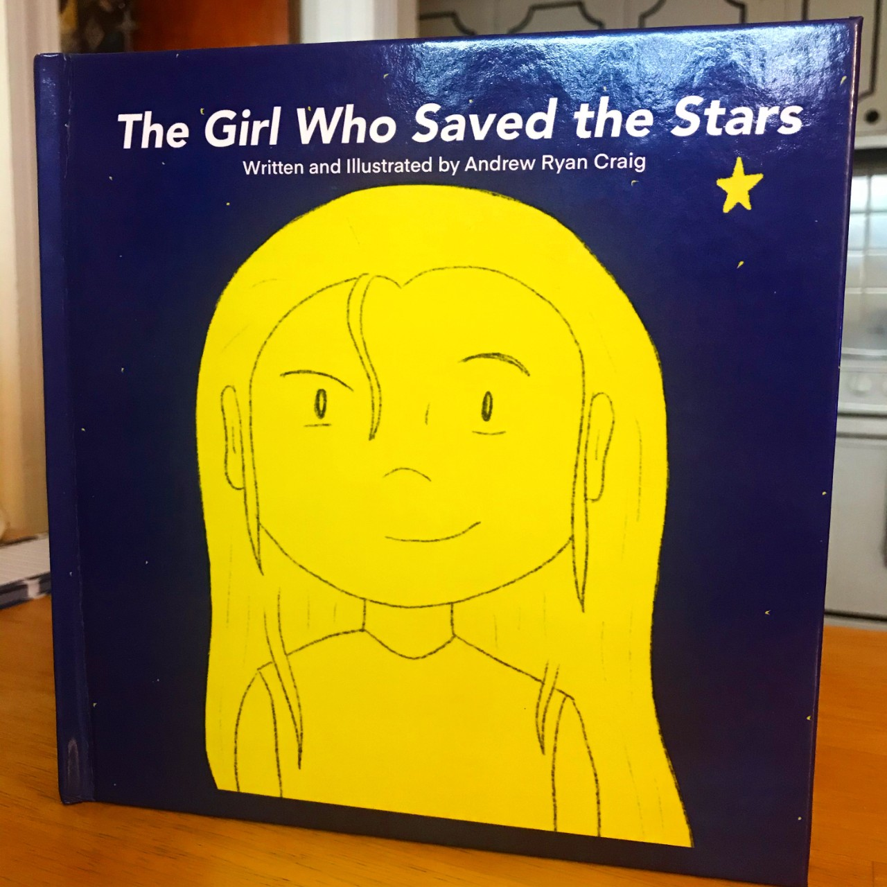 Book cover: The Girl Who Saved the Stars
