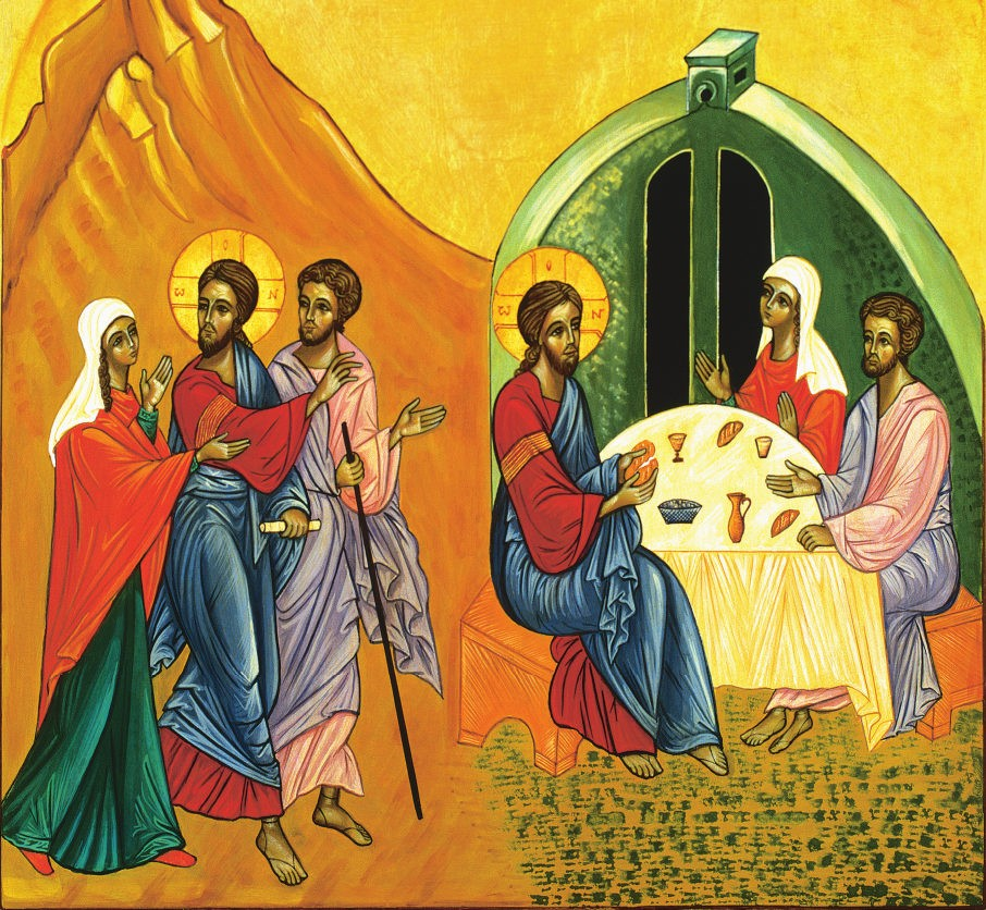 Icon of the Journey to Emmaus