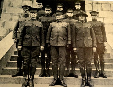 Student Army Training Corps Instructors, 1918