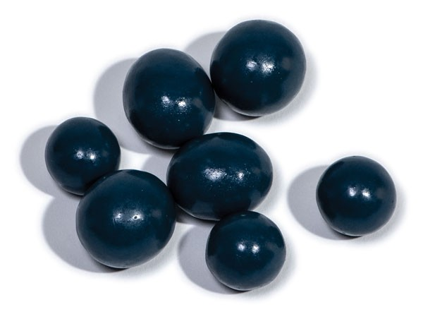 Chocolate-covered blueberries