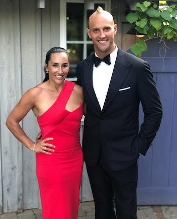photo of Danielle and Mark Herzlich