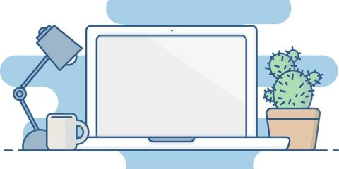 illustration of a laptop