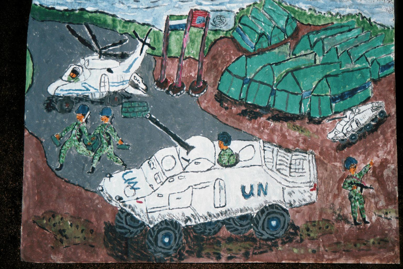 UN tanks painting(1)
