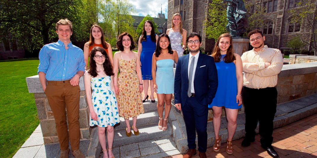 2019 Fulbright winners