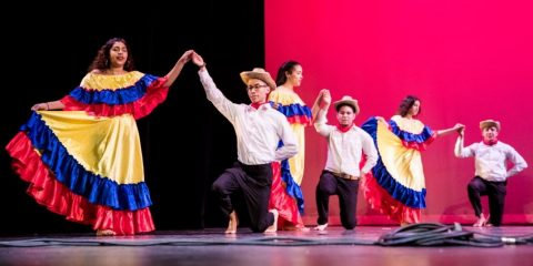 OLAA Latino Family Weekend dance showcase 2019