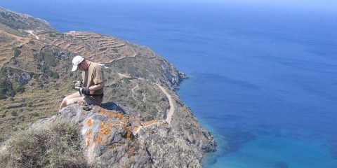 Ethan Baxter on the Greek island of Sifnos