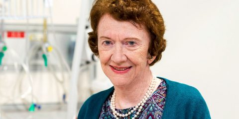 Connell School of Nursing Professor Ann Burgess
