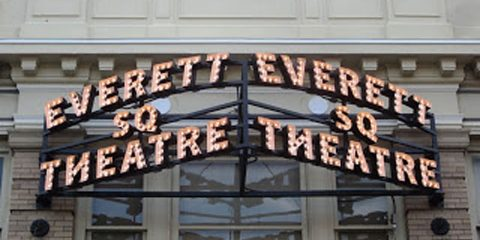 Everett Sq. Theatre sign