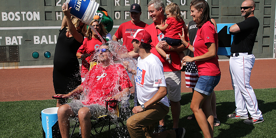 Pete Frates' Ice Bucket Challenge